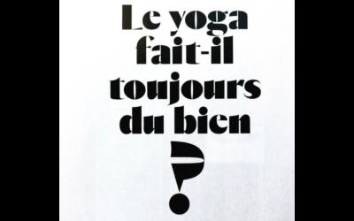 Interview Lorris Gellé dans Grazzia : Le yoga fait-il toujours du bien ?